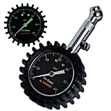 Summit Tools Heavy Duty Tire Pressure Gauge With Hold Valve