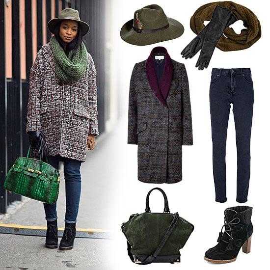 Tweed Coat Street Style (Shopping)