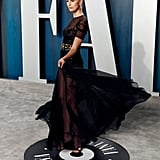Karolina Kurkova at the Vanity Fair Oscars Afterparty 2020