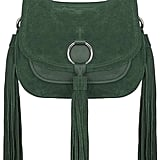 Topshop Premium Ring Crossbody Leather Bag ($160)