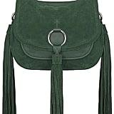 Topshop Premium Ring Crossbody Leather Bag ($160)