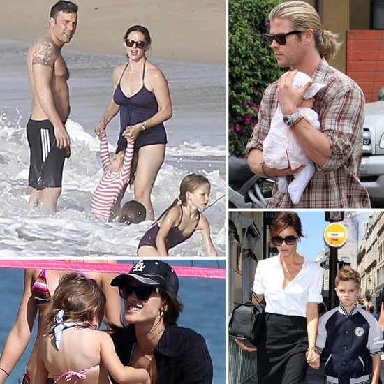 Celebrity Family Pictures July 23, 2012
