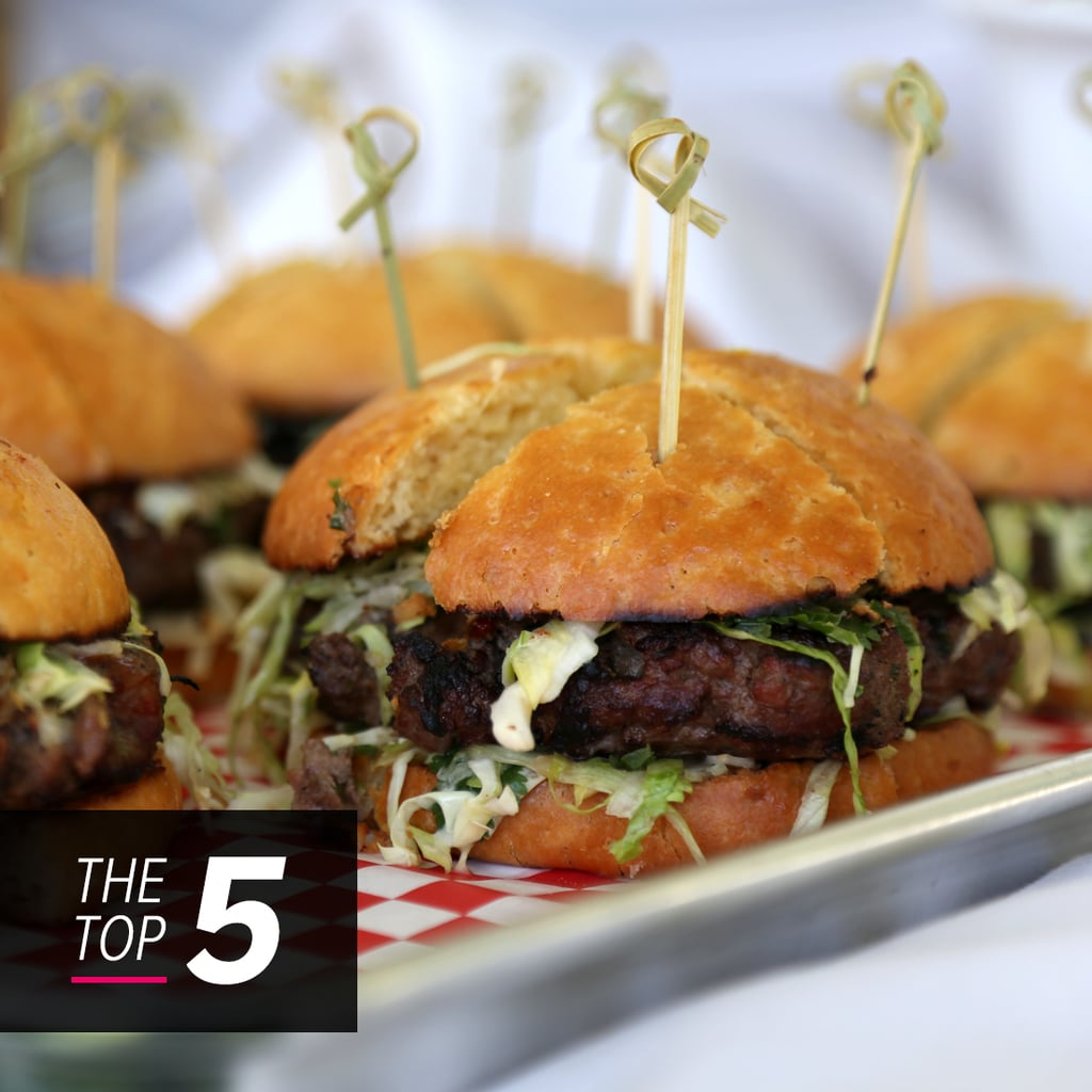 The Top 5 Finalists From the Build a Better Burger Contest