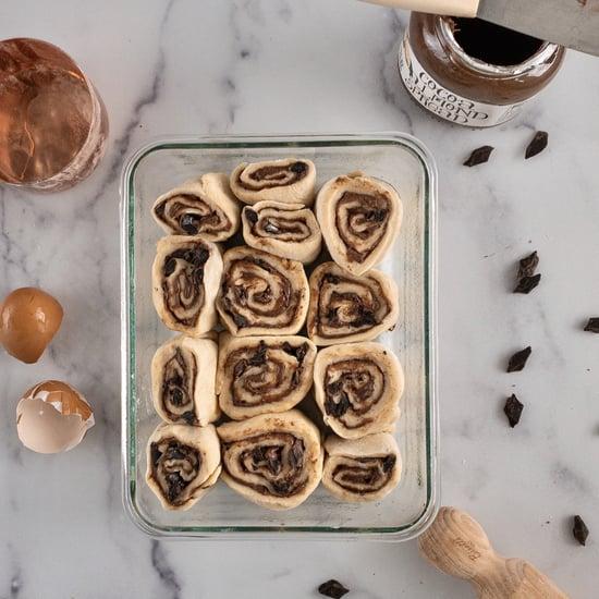 Chocolate Almond Rolls Recipe