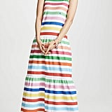 Mira Mikati Striped Sleeveless Dress