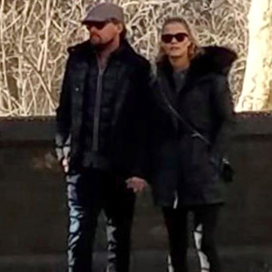 Leonardo DiCaprio and Nina Agdal Holding Hands March 2017