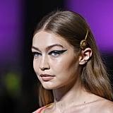 Gigi Hadid's Supersize Green Eyeliner
