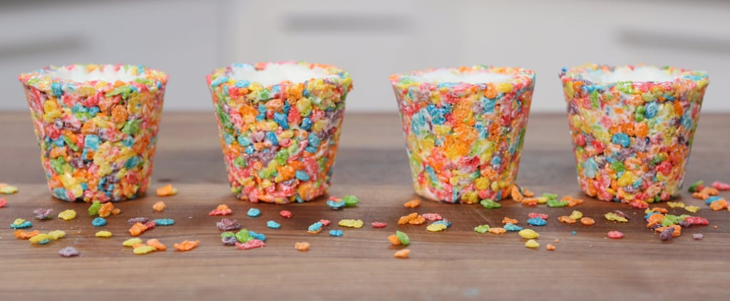 Fruity Pebbles Cereal Shot Glass Recipe