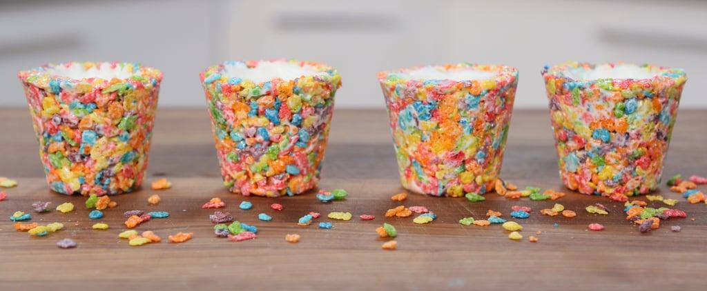 Fruity Pebbles Cereal Shots Recipe