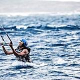 Barack Obama Kitesurfing in the Caribbean 2017 Pictures