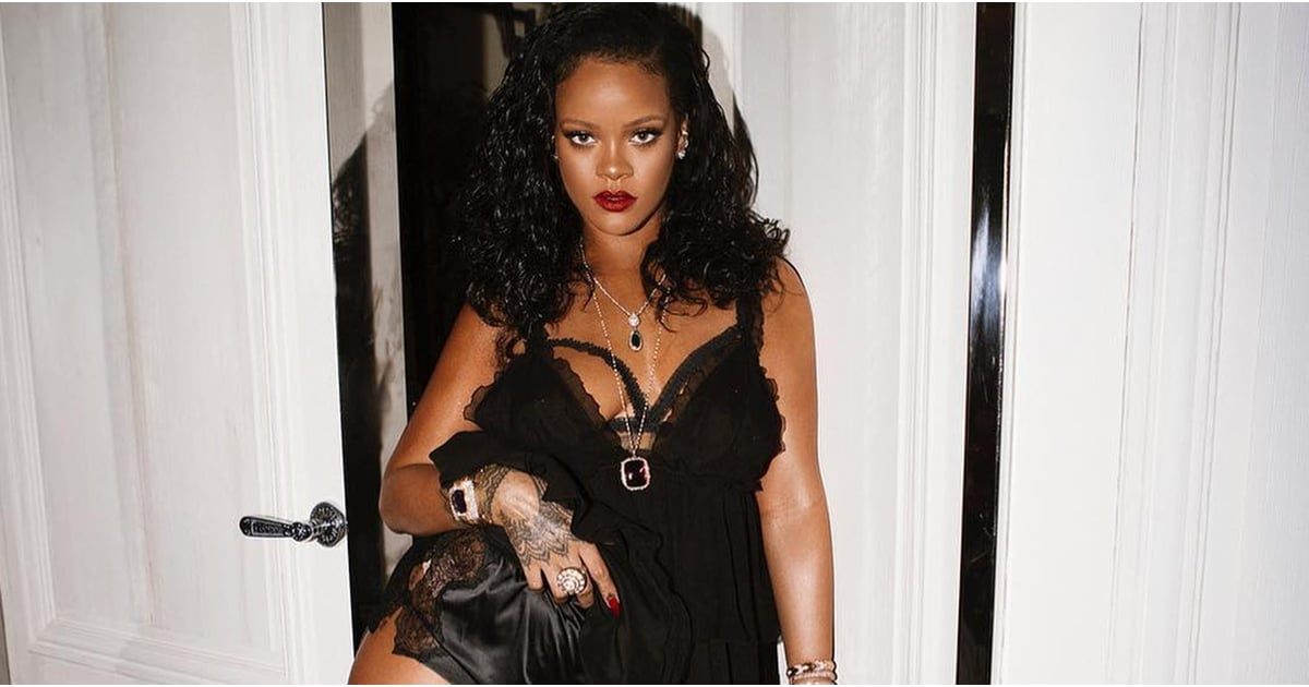 Rihanna Quotes About Her Body In British Vogue 2018  Popsugar Fitness-1592