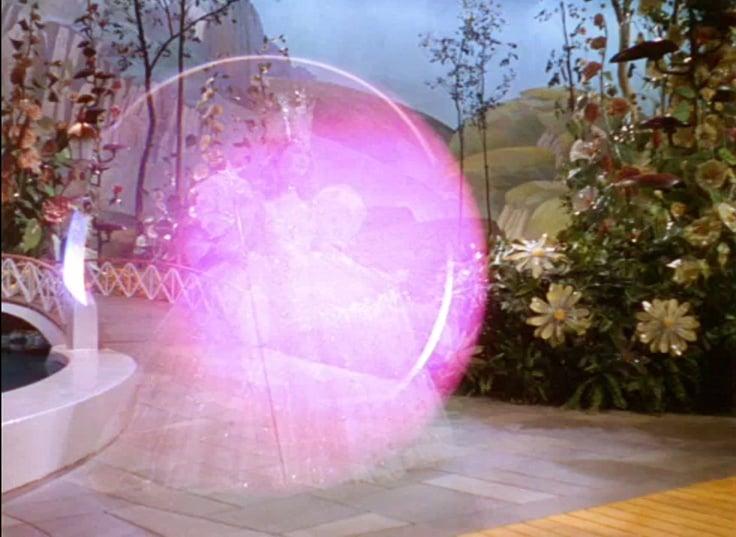 Glinda's Bubble in The Wizard of Oz
