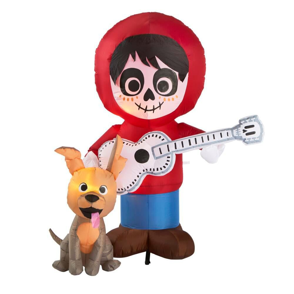 Home Depot Coco Miguel and Dante Inflatable