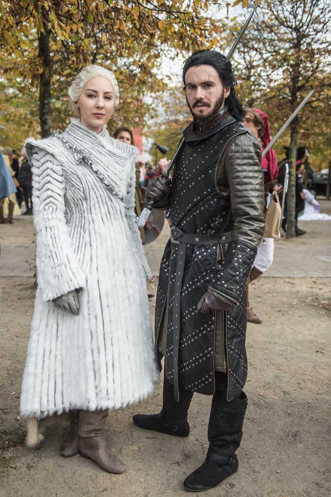 Image result for jon snow daenerys cosplay