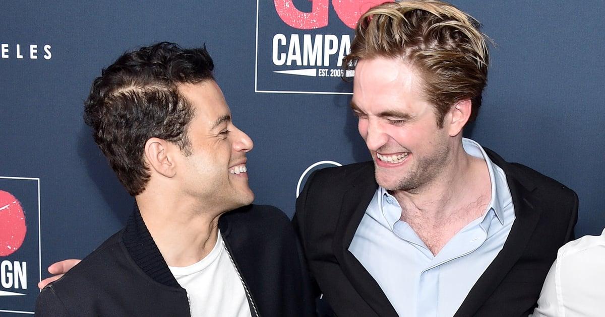 Robert Pattinson and Rami Malek's Mini Twilight Reunion Is Just What We Needed