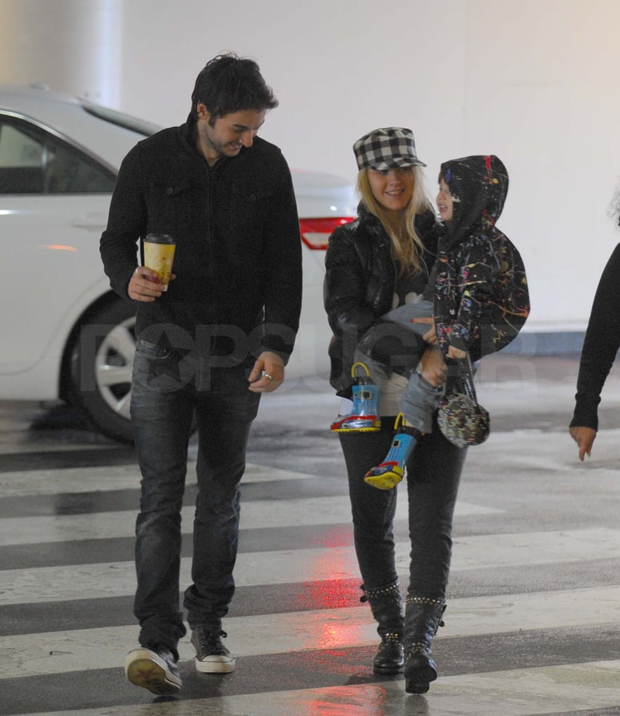 Christina Aguilera and her boyfriend Matthew Rutler took little Max to an automotive museum in LA earlier this week. Now that Christina has returned from her worldwide promotional tour for Burlesque, the threesome was able to enjoy some fun close to home. Today marks the end of a big year for Christina, which included her shocking split from husband Jordan Bratman, the release of an awesome album, and her budding new relationship with Matthew. We hope Christina, and all of you, have a safe and happy new year as you ring in 2011!