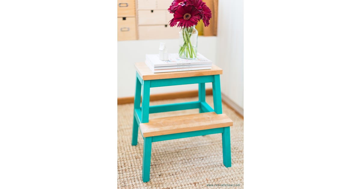 Give Them A Leg Up With A Fun Washi Tape Step Stool Kids