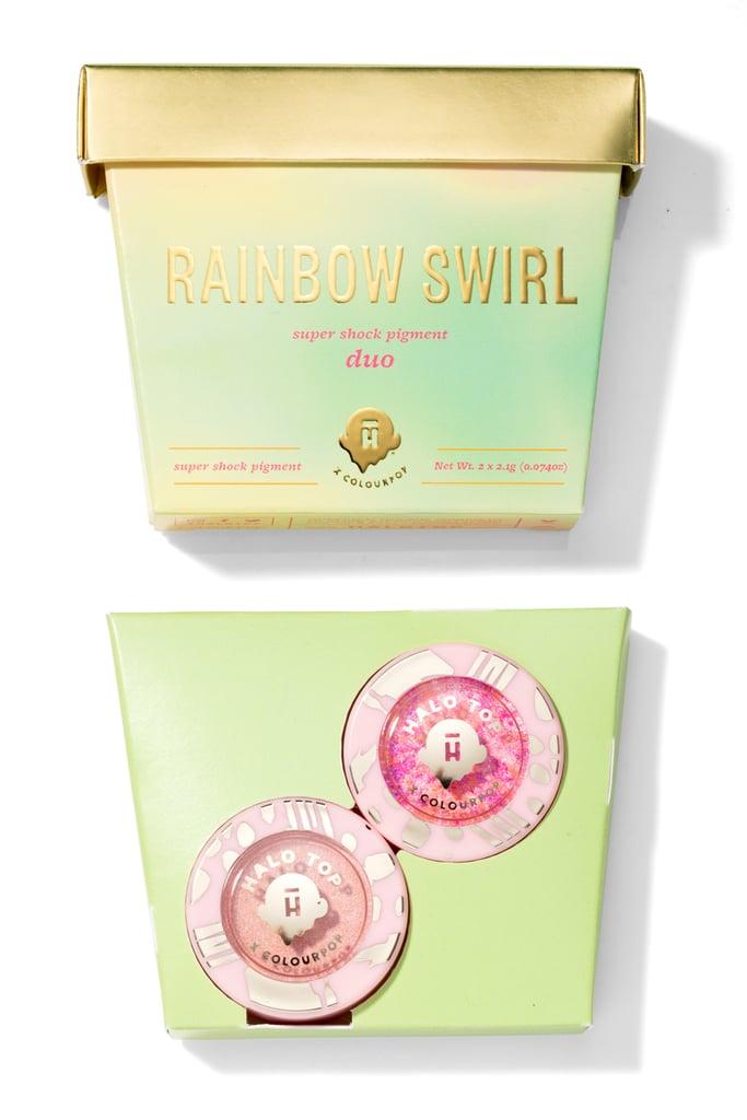 Halo Top x ColourPop Rainbow Swirl