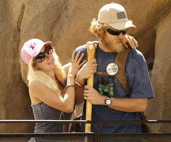 Slide Picture of Heidi Montag and Spencer Pratt at the Santa Barbara Zoo