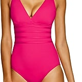 LaBlanca La Blanca Multistrap Cross Back Maillot One-Piece Swimsuit
