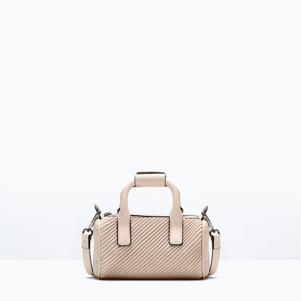 Zara Quilted Mini Bowling Bag ($36)