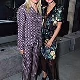 Selena and Her Stylist, Kate Young, at the Prada Show