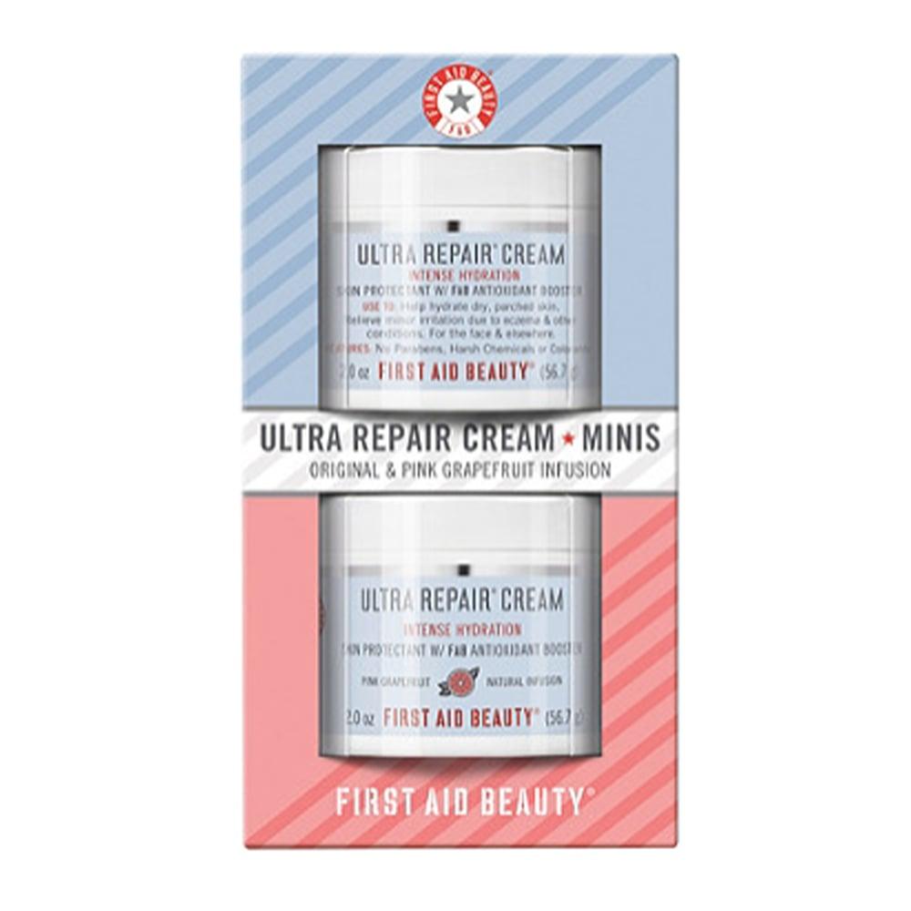 First Aid Beauty Ultra Repair Cream Minis in Original and Pink Grapefruit