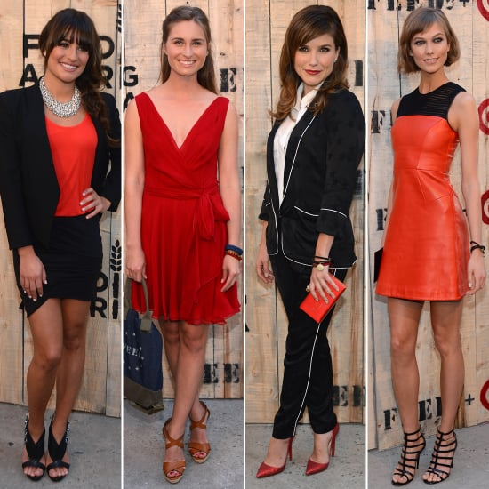 Which Celeb\'s Red Dress Look Won at the Target FEED Dinner ...