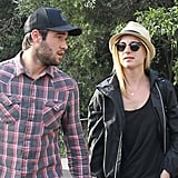 Revenge Stars Emily VanCamp and Joshua Bowman Take In Sydney Sights