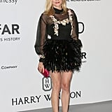 Fierce and feathery. Diane flawlessly pulled off this Chanel number at amfAR's 22nd Cinema Against AIDS Gala.