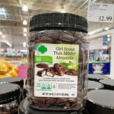You Can Get a Jar of Official Girl Scout Thin Mint Almonds at Costco For $13