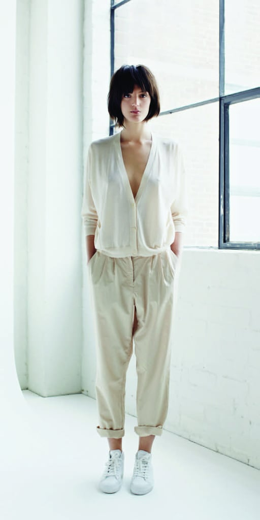 If you're fan of simple, pared down elegance, then Jac + Jack's Spring collection is for you. The Aussie brand has stayed true to its fuss-free roots with a collection filled with classic basics updated via modern silhouettes and a slouchy-cool style. Soft jersey, crushed cotton and a touch of silk add a luxurious element to key pieces such as drapey dresses, scoop-neck separates and relaxed blazers. Muted tones of grey, white and black are brought to life with the softest shades of dusty blues. I'm obsessed with all the lightweight pants (great for those trans-seasonal months), and can't wait to get my hands on all the luxe, throw-on scarves. Give it to me, and give it to me now.