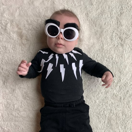 Baby Dressed as David Rose From Schitt's Creek