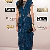 Famke Janssen attended the Critics' Choice Awards.