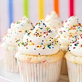 Funfetti Angel Food Cupcakes