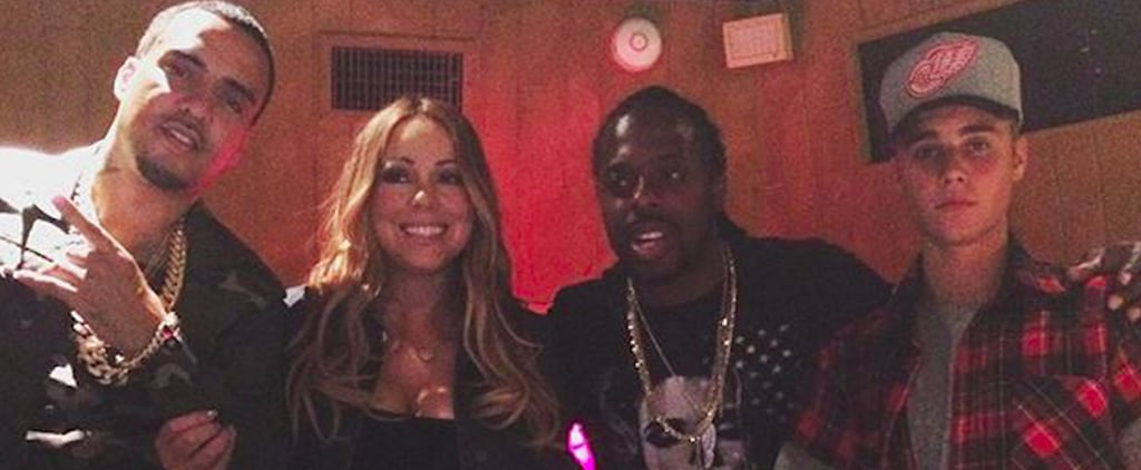 Mariah Carey and Justin Bieber Instagram Picture