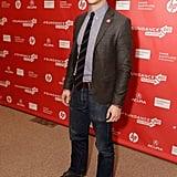 Joseph Gordon-Levitt attended the premiere of Don Jon's Addiction at Sundance.