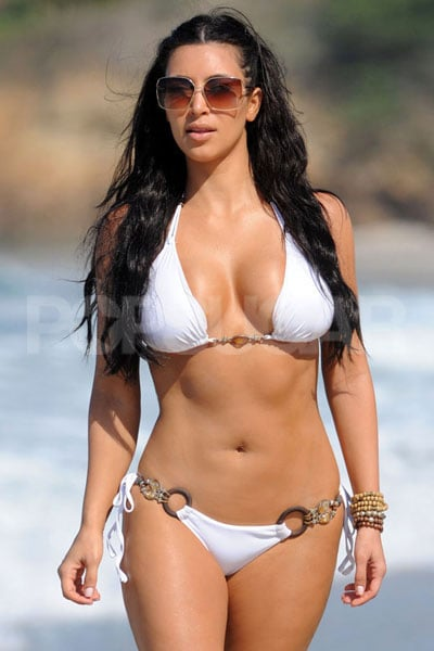 4 Kim Kardashian Celebrity Bikini And Shirtless
