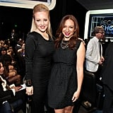 Wendi McLendon-Covey and Maya Rudolph