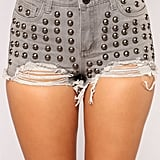 Fashion Nova Tell Me 'Bout It Stud High Rise Shorts