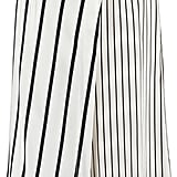 Iris and Ink Sonia Layered Striped Silk Crepe de Chine Culottes ($210)
