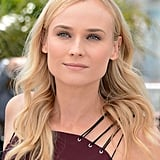 Diane Kruger wore a Versus dress for the jury photocall in Cannes.