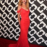 While we don't always see Diane von Furstenberg worn on the red carpet, the stunning number Erin Wasson selected would feel at home at the most glamorous award show around.