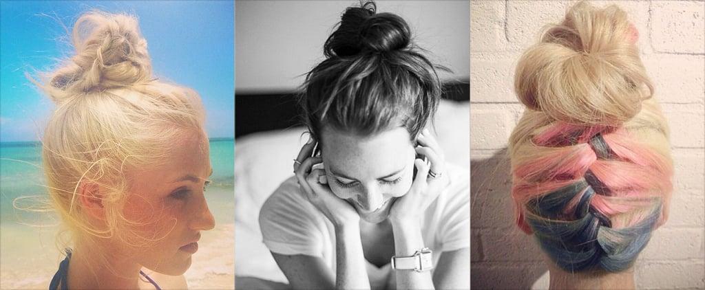 Summer Hair Buns Instagram