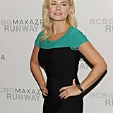 Elisha Cuthbert attended fashion week.
