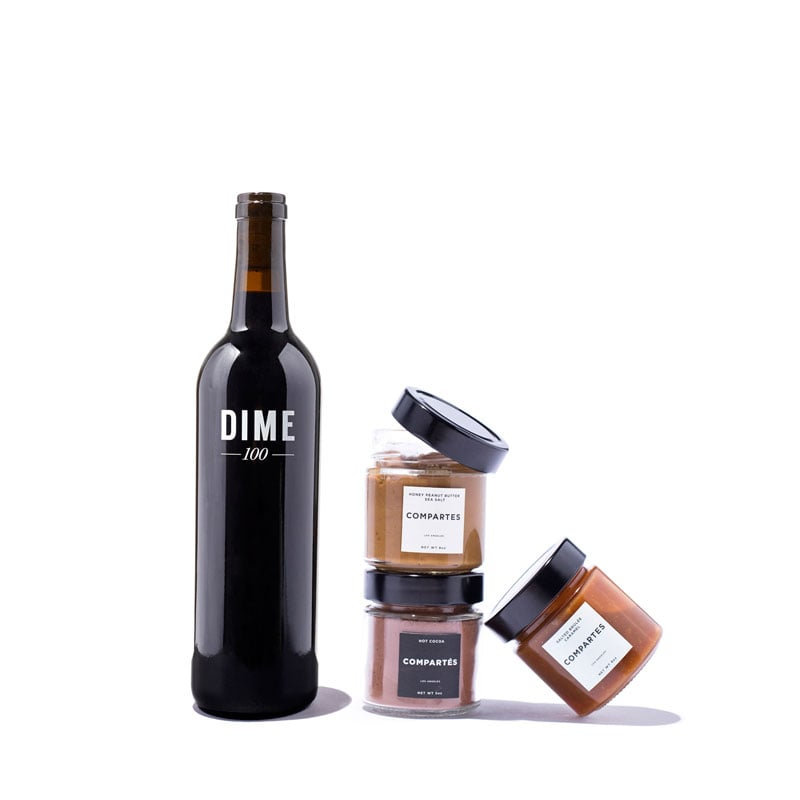 Winc Gift Set Featuring Compartés and Dime 100 Wine