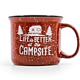 Camco Life Is Better at The Campsite Mug