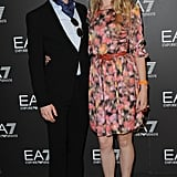 Freddie Fox and Tamzin Merchant