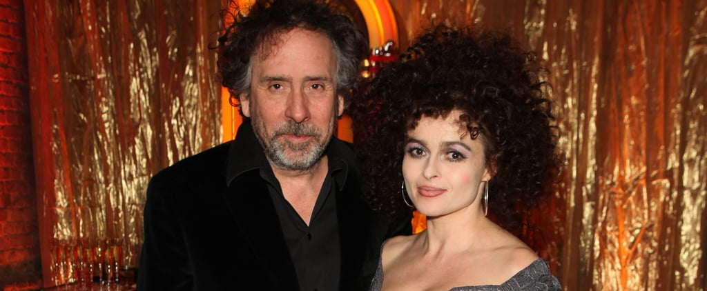 Tim Burton and Helena Bonham Carter Split