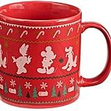 Disney Mickey Mouse Ugly Sweater Ceramic Mug